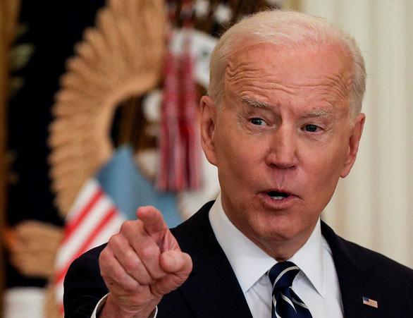 Ông Biden khẳng định sẽ ngăn Trung Quốc vượt Mỹ - Ảnh 1.