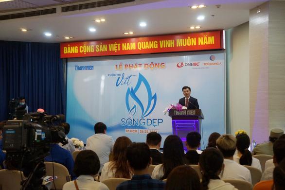 One IBC Việt Nam đồng hành cuộc thi viết 'Sống đẹp' - Ảnh 1.
