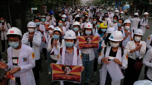 Phong trào phản đối đảo chính Myanmar được đề cử Nobel Hòa bình - Ảnh 1.