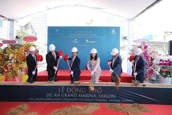 Động thổ dự án căn hộ mang thương hiệu Marriott International - Ảnh 1.