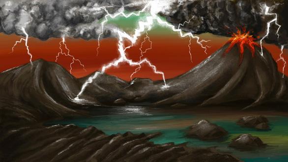 Những tia sét có thể là nguồn gốc cho sự sống trên Trái đất - Ảnh 1.