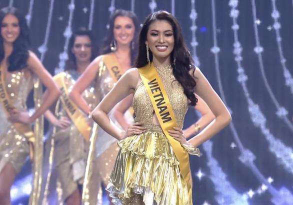 Ngọc Thảo dừng lại ở top 20 Miss Grand International 2020 - Ảnh 4.