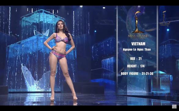 Ngọc Thảo dừng lại ở top 20 Miss Grand International 2020 - Ảnh 5.