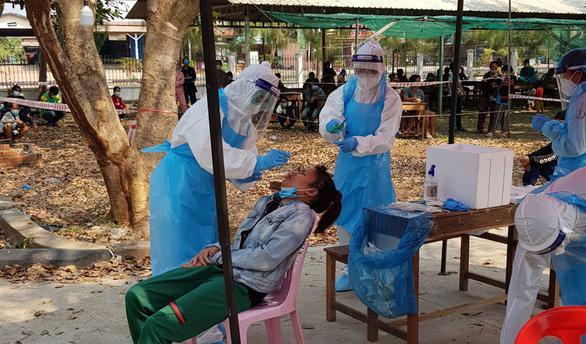 Campuchia: 179 ca COVID-19 mới trong ngày 27-3, tỉnh giáp Việt Nam có 4 ca  - Ảnh 1.