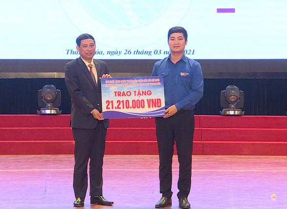 21 triệu đồng từ ngôi trường ở Thanh Hóa Cùng Tuổi Trẻ góp vắc xin COVID-19 - Ảnh 1.