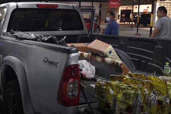 Đấu giá xe bán tải, được nhận kèm 20kg ma túy đá cất giấu trên xe - Ảnh 1.