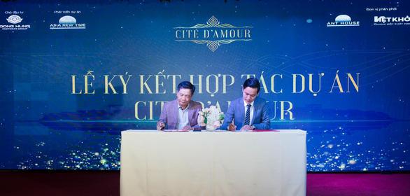 Asia New Time phân phối khu nhà phố thương mại Cite' D'amour - Ảnh 1.