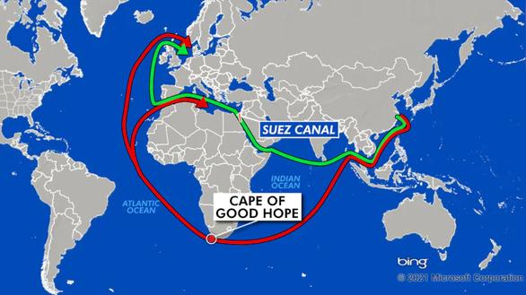 Giải cứu kênh đào Suez: Tia hi vọng nhờ thủy triều dâng - Ảnh 1.