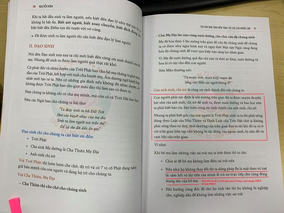 Tạm đình chỉ phát hành sách của Câu lạc bộ Tình người - Ảnh 1.