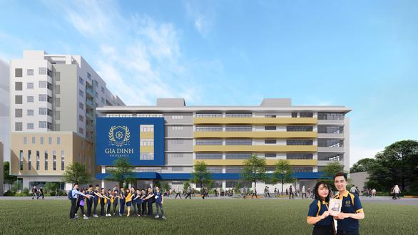 Trường Đại học Gia Định mở rộng cơ sở học tập 10.000m2 ngay trung tâm TP.HCM - Ảnh 1.