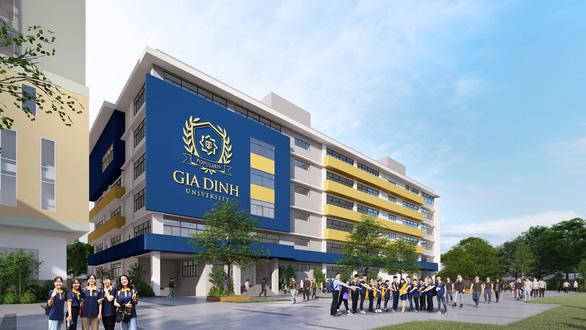 Trường Đại học Gia Định mở rộng cơ sở học tập 10.000m2 ngay trung tâm TP.HCM - Ảnh 2.