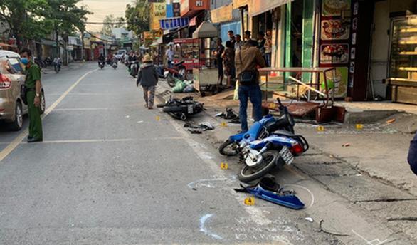 Xe môtô 3 bánh rời hiện trường sau tai nạn chết người ở quận 12 - Ảnh 2.