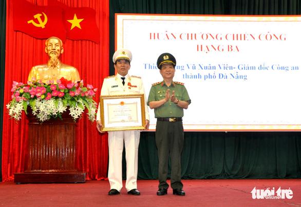 Công an Đà Nẵng nhận Huân chương chiến công hạng nhì - Ảnh 2.