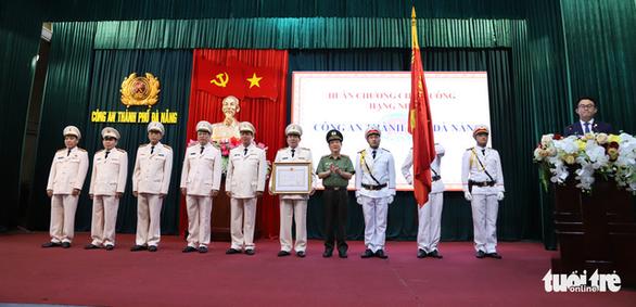 Công an Đà Nẵng nhận Huân chương chiến công hạng nhì - Ảnh 1.