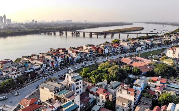 Hà Nội từ quay lưng vào sông Hồng nay sẽ quay mặt vào sông Hồng để phát triển - Ảnh 1.