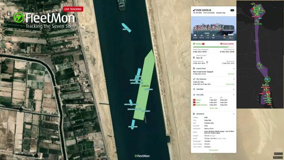 Tổng thống Ai Cập: Đã giải cứu thành công tàu Ever Given kẹt ở kênh Suez - Ảnh 1.