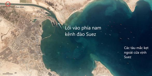 Toàn cảnh vụ giải cứu tàu container gây tắc nghẽn kênh đào Suez - Ảnh 1.