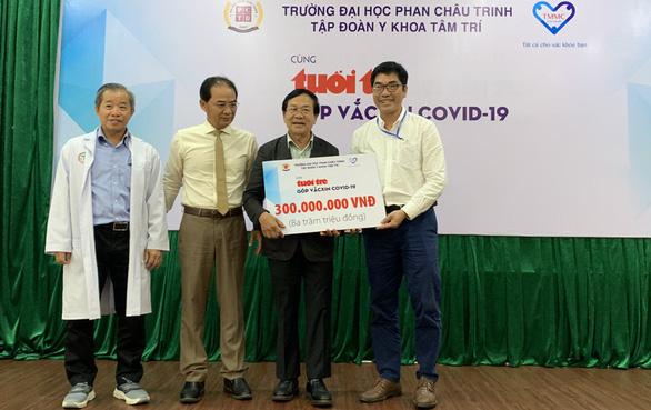 Thêm 300 triệu đồng cùng Tuổi Trẻ góp mua vắc xin COVID-19 - Ảnh 1.