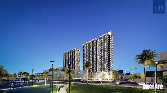 Đà Nẵng: Tái thiết đô thị ở trung tâm, có khu phức hợp 2 khối cao 23 tầng, cầu đi bộ trên cao - Ảnh 1.