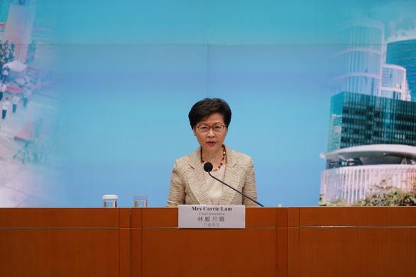 Bà Carrie Lam: Cải cách bầu cử Hong Kong loại bỏ những người không yêu nước - Ảnh 1.