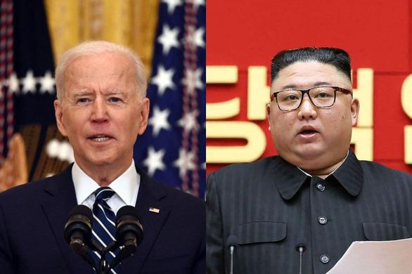 Ông Biden không có ý định gặp ông Kim Jong Un - Ảnh 1.