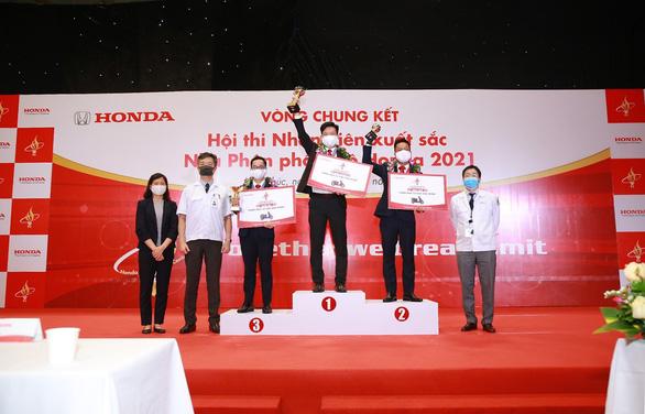 Vòng chung kết Hội thi Nhân viên xuất sắc - Nhà Phân phối Ôtô Honda năm 2021 - Ảnh 1.
