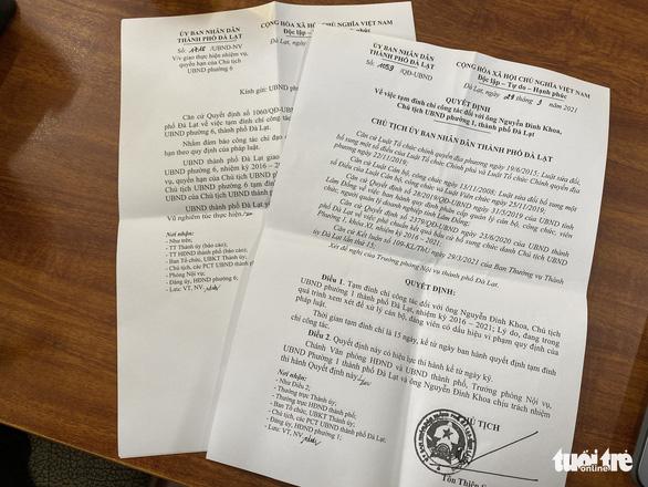 Đà Lạt tạm đình chỉ 2 chủ tịch phường sử dụng ma túy trong một căn hộ - Ảnh 2.