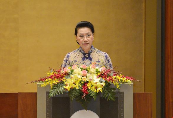 Miễn nhiệm Chủ tịch Quốc hội Nguyễn Thị Kim Ngân - Ảnh 1.