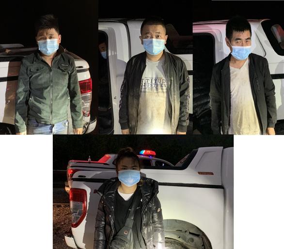 Ngăn chặn 4 người Trung Quốc nhập cảnh trái phép vào Quảng Ninh - Ảnh 1.