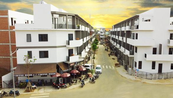 Nhà phố hoàn thiện tăng sức nóng thị trường vùng ven - Ảnh 1.