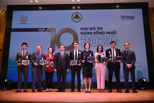 Vạn Phuc City nhận danh hiệu Top 10 Khu đô thị đáng sống nhất năm 2020 - Ảnh 1.