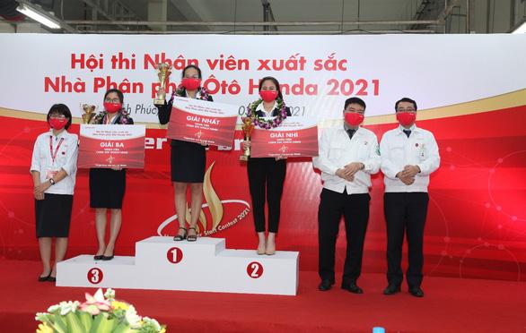 Vòng chung kết Hội thi Nhân viên xuất sắc - Nhà Phân phối Ôtô Honda năm 2021 - Ảnh 3.