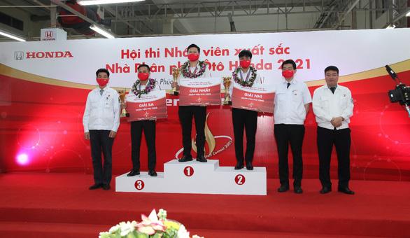 Vòng chung kết Hội thi Nhân viên xuất sắc - Nhà Phân phối Ôtô Honda năm 2021 - Ảnh 4.
