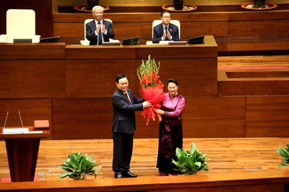 Tân Chủ tịch Quốc hội Vương Đình Huệ: Mục tiêu tối thượng là hạnh phúc của nhân dân - Ảnh 2.