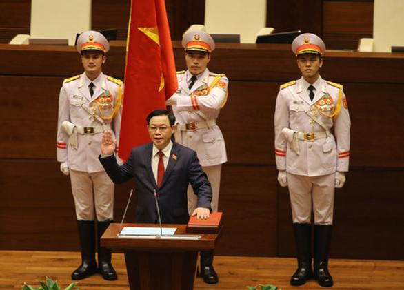 Ông Vương Đình Huệ trở thành tân Chủ tịch Quốc hội - Ảnh 1.