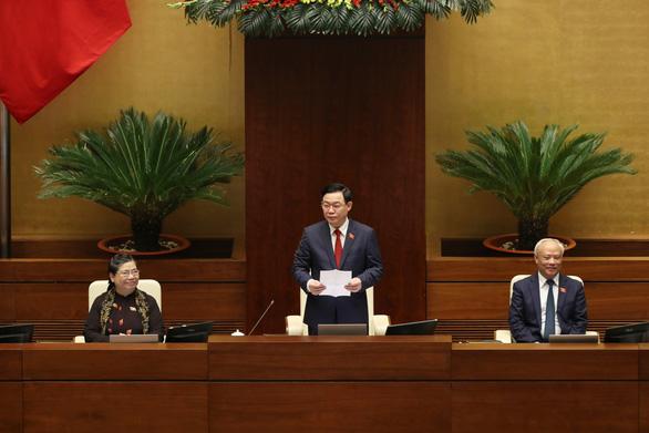 Trình Quốc hội miễn nhiệm các phó chủ tịch Tòng Thị Phóng, Uông Chu Lưu, Phùng Quốc Hiển - Ảnh 1.