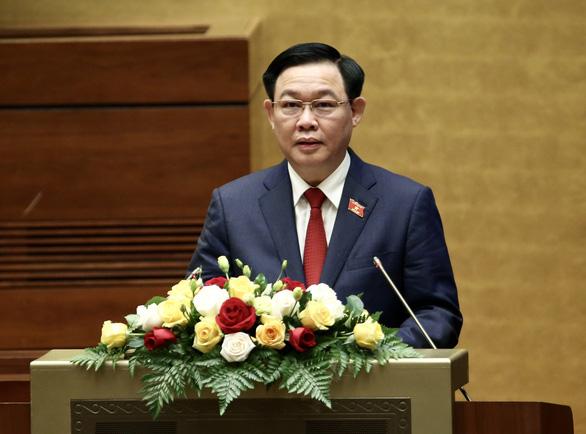 Tân Chủ tịch Quốc hội Vương Đình Huệ: Mục tiêu tối thượng là hạnh phúc của nhân dân - Ảnh 1.