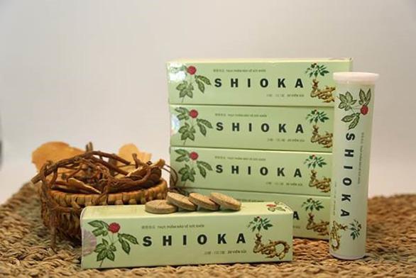 Shioka: công dụng và chất lượng - Ảnh 1.