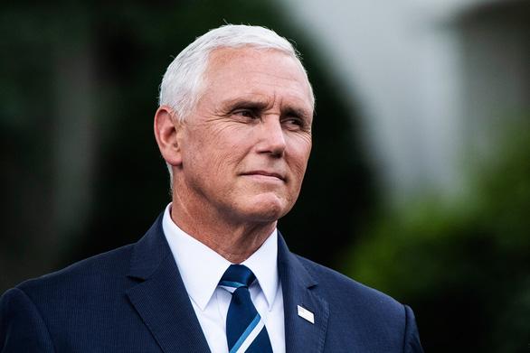 Cựu phó tổng thống Mỹ Mike Pence tái xuất - Ảnh 1.