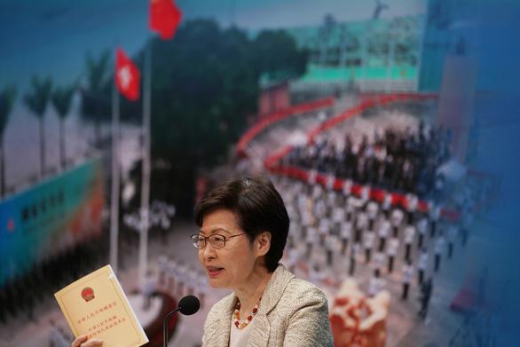 Mỹ lên án Trung Quốc thông qua cải cách bầu cử ở Hong Kong - Ảnh 1.