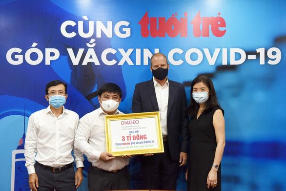 Doanh nghiệp nước ngoài đầu tiên ủng hộ 3 tỉ đồng Cùng Tuổi Trẻ góp vắc xin COVID-19 - Ảnh 4.