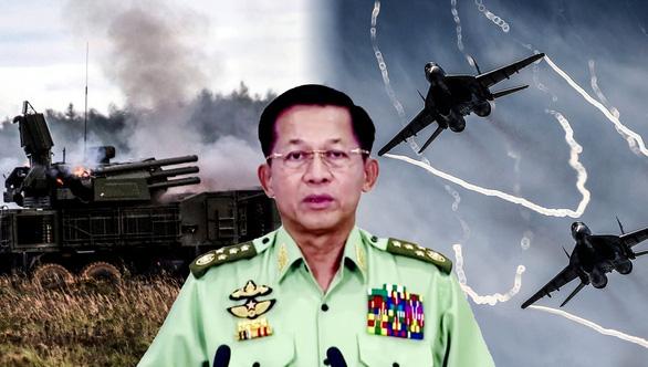 Vì Nga và Trung Quốc, Liên Hiệp Quốc khó trừng phạt quân đội Myanmar - Ảnh 1.