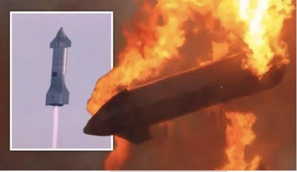 Tàu vũ trụ mới nhất của SpaceX phát nổ sau khi hạ cánh - Ảnh 1.