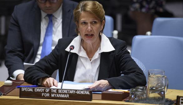 Đặc sứ Liên Hiệp Quốc kêu gọi giữ kết quả bầu cử ở Myanmar - Ảnh 1.