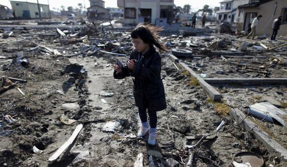 Tìm thấy hài cốt phụ nữ bị mất tích trong thảm họa Fukushima 10 năm trước - Ảnh 1.