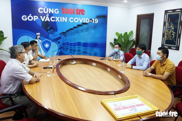 Vinacam ủng hộ 500 triệu cho chương trình Cùng Tuổi Trẻ góp vắc xin COVID-19 - Ảnh 1.