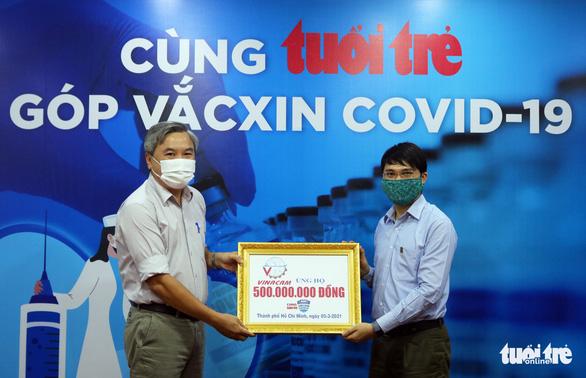 Vinacam ủng hộ 500 triệu cho chương trình Cùng Tuổi Trẻ góp vắc xin COVID-19 - Ảnh 3.