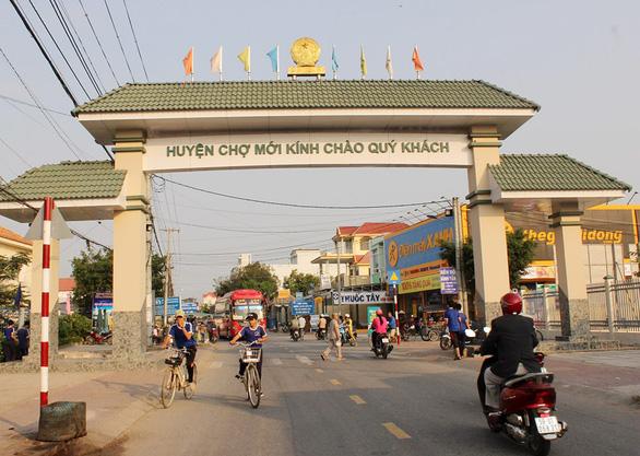 Thị trấn Chợ Mới - tiềm năng phát triển vượt bậc - Ảnh 3.
