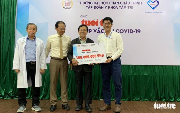Hàng chục ngàn sinh viên, giảng viên hưởng ứng Cùng Tuổi Trẻ góp vắc xin COVID-19 - Ảnh 3.