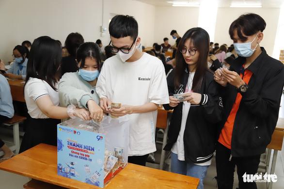 Hàng chục ngàn sinh viên, giảng viên hưởng ứng Cùng Tuổi Trẻ góp vắc xin COVID-19 - Ảnh 5.